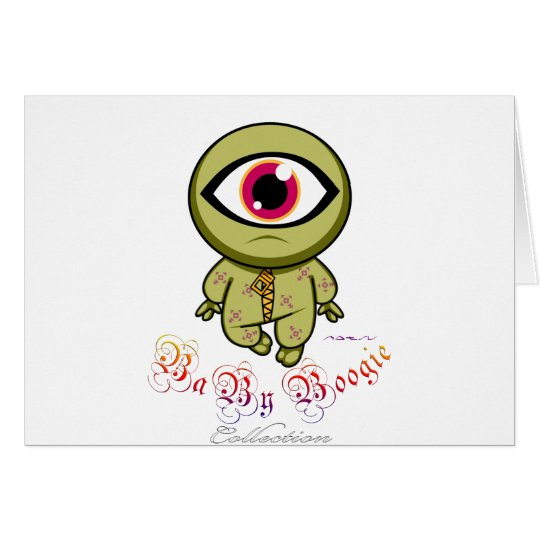 Baby Boogie - Cyclop Card