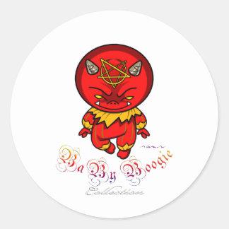 Baby Boogie - Evil Boy Classic Round Sticker