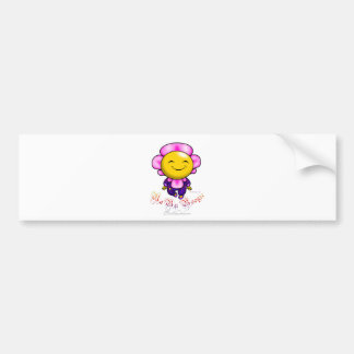 Baby Boogie - Flower Bumper Sticker