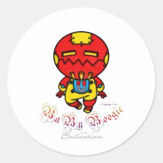 Baby Boogie - Iron Kid Classic Round Sticker
