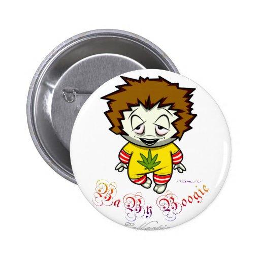 Baby Boogie - Junky Kid 2 Inch Round Button