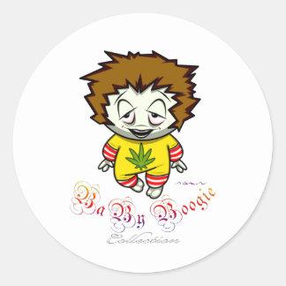 Baby Boogie - Junky Kid Classic Round Sticker