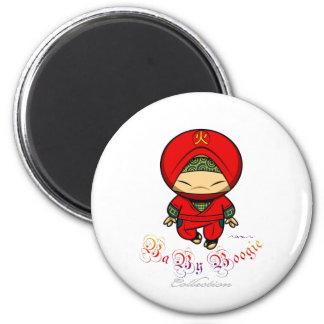 Baby Boogie - Red Ninja Magnet