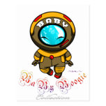 Baby Boogie - Steam Diver Post Card