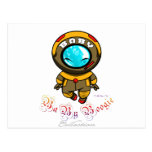 Baby Boogie - Steam Diver Postcard