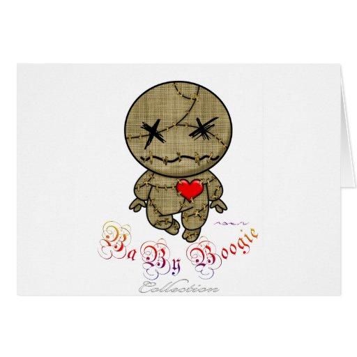 Baby Boogie - VooDoo ! Greeting Card