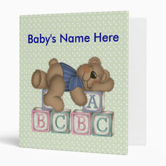 Baby Book 3 Ring Binder