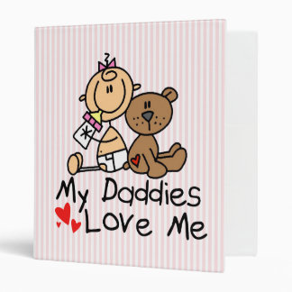 Baby Book For Children Of Gay Dads 3 Ring Binder