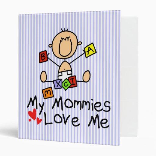 Baby Book For Children Of Gay Moms Vinyl Binders