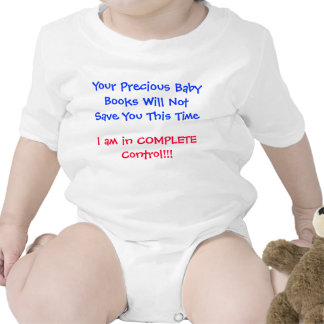 Baby Books Will Not Save You Rompers