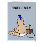 Baby boom tarjeton