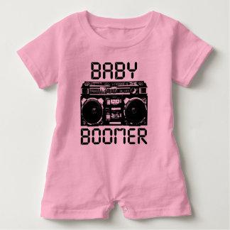 Baby Boomer Baby Romper