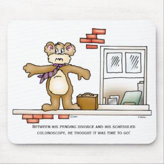 Baby Boomer Bear Mouse Pad