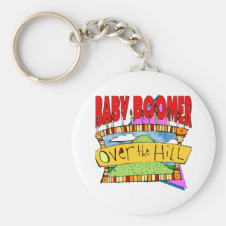 Baby Boomer Birthdays Keychain