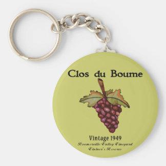 Baby Boomer Gifts, Vintage 1949 Basic Round Button Keychain