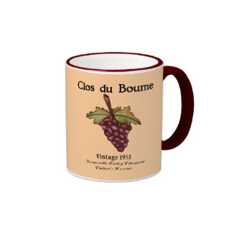 Baby Boomer Gifts, Vintage 1951 Ringer Coffee Mug