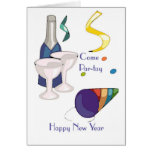 Baby Boomer New Year's Eve Party Invitation Greeting Card