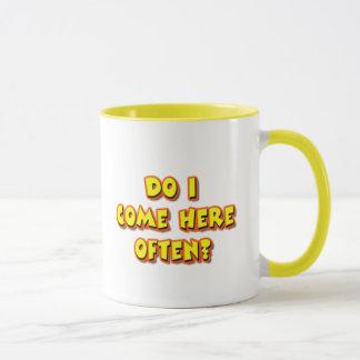 Baby Boomer Pickup Line Mug
