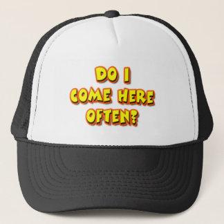 Baby Boomer Pickup Line Trucker Hat