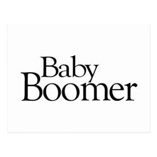 Baby Boomer Postcard