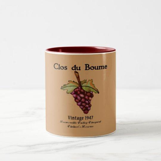 Baby Boomer, Vintage 1947 Two-Tone Coffee Mug