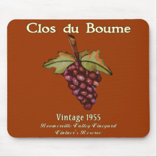 baby Boomer, Vintage 1955 Mouse Pad