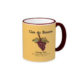 Baby Boomer, Vintage 1961 Ringer Mug