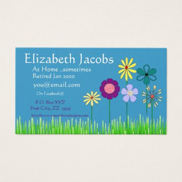 Professional Business Baby Boomer's Retirement Business Card