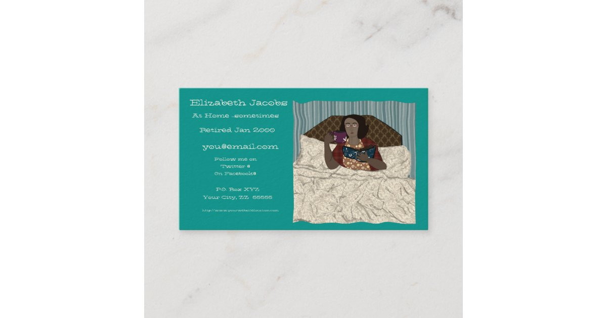 Baby Boomer's Retirement Business Card | Zazzle.com