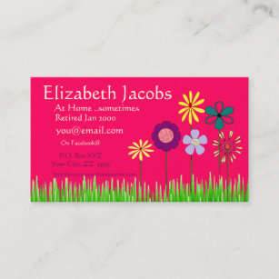 Retired business cards templates zazzle baby boomers retirement business card colourmoves