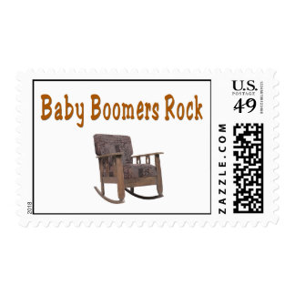 baby boomers rock postage stamps