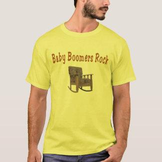 baby boomers rock  t-shirt