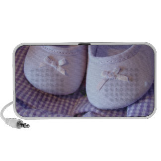 Baby Booties Doodle Speakers Lavender Shoes Infant