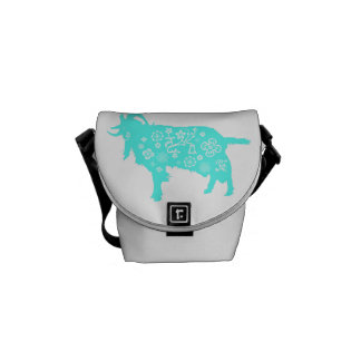 Baby Born in Goat Year - Mini Messenger Bag