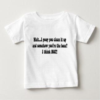 Baby Boss Poop Baby T-Shirt