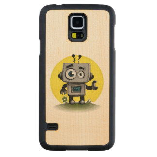 Baby Bot Carved® Maple Galaxy S5 Case