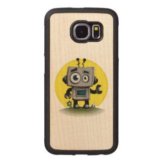 Baby Bot Wood Phone Case