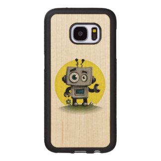 Baby Bot Wood Samsung Galaxy S7 Case