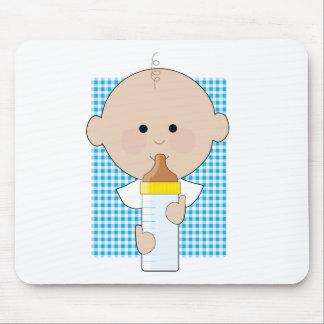 Baby Bottle Boy Mouse Pad