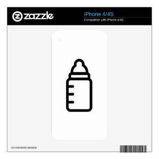 Baby Bottle Decal For The iPhone 4S