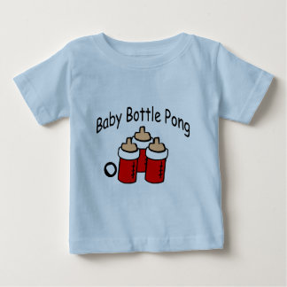 Baby Bottle Pong Baby T-Shirt