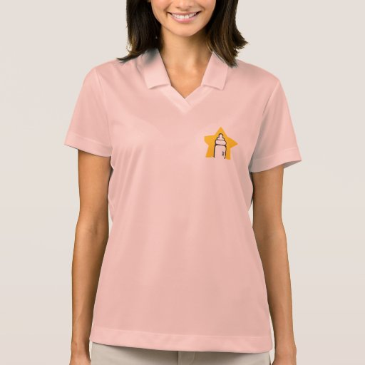 Baby bottle Star Polo T-shirts
