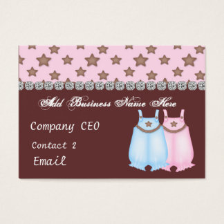 Baby BOUTIQUE STORE Glam Business Card