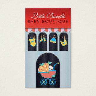 Baby Boutique Storefront Babies Shop Business Card