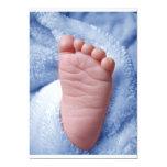 """Baby Boy 5"""" X 7"""" Invitation Card"""