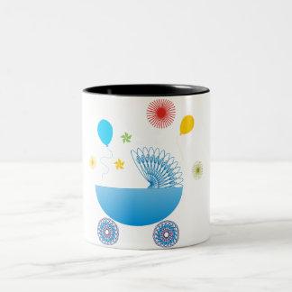 Baby Boy A1 Two-Tone Coffee Mug