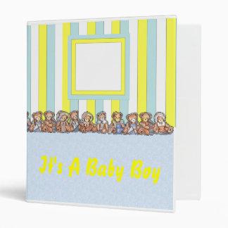 Baby Boy Album Binders