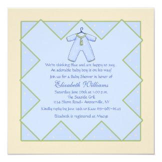 Baby Boy - Baby Shower Invitation