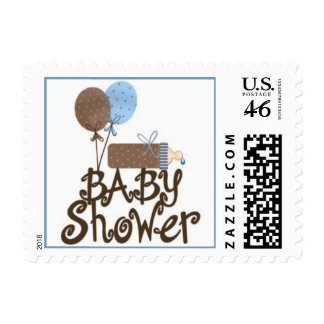 Baby Boy Baby Shower Stamps