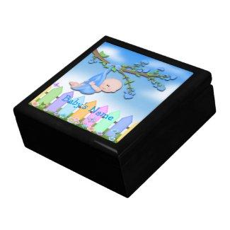 Baby Boy - Backyard Gift Box/Trinket Box